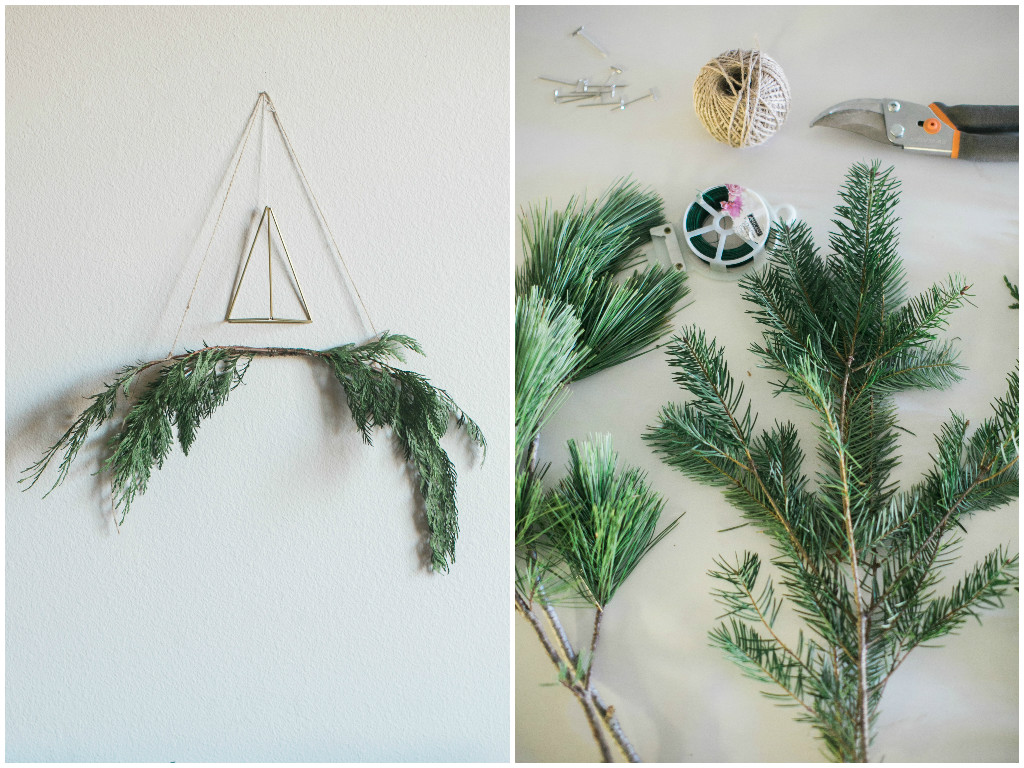 DIY Holiday Wall Hanging - Lindsey Brunk