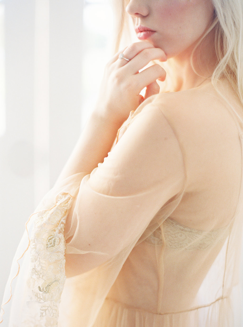 Sunrise Boudoir Session - Lindsey Brunk