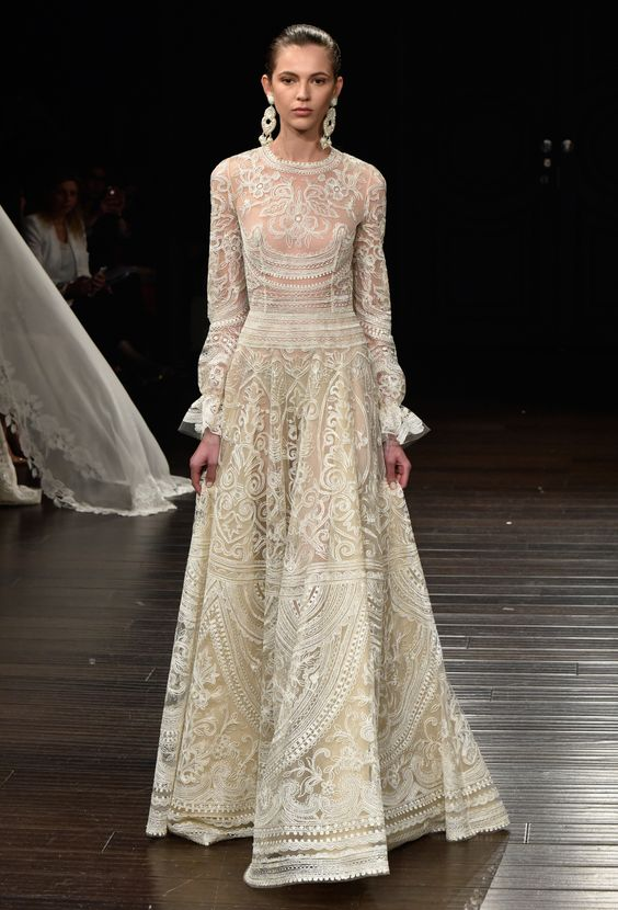 Naeem Khan Bridal Spring 2017 via WWD