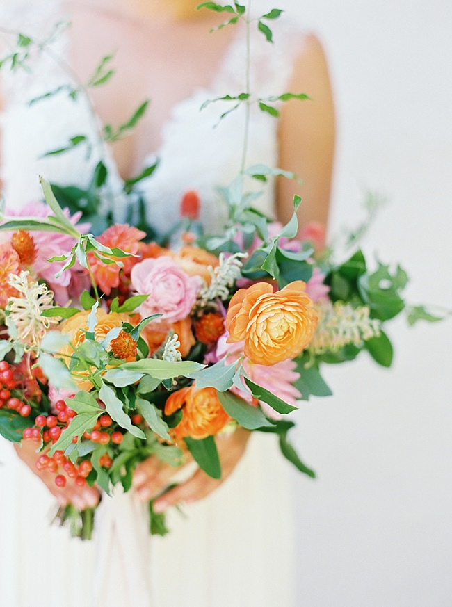 Colorful Summer Bridal Inspiration- Lindsey Brunk