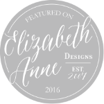 As seen on Elizabeth Anne Designs - Lindsey Brunk
