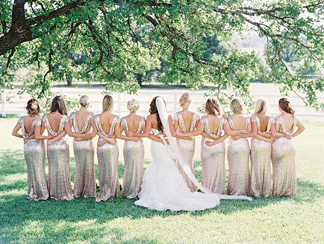 Glam Dallas Wedding - Lindsey Brunk