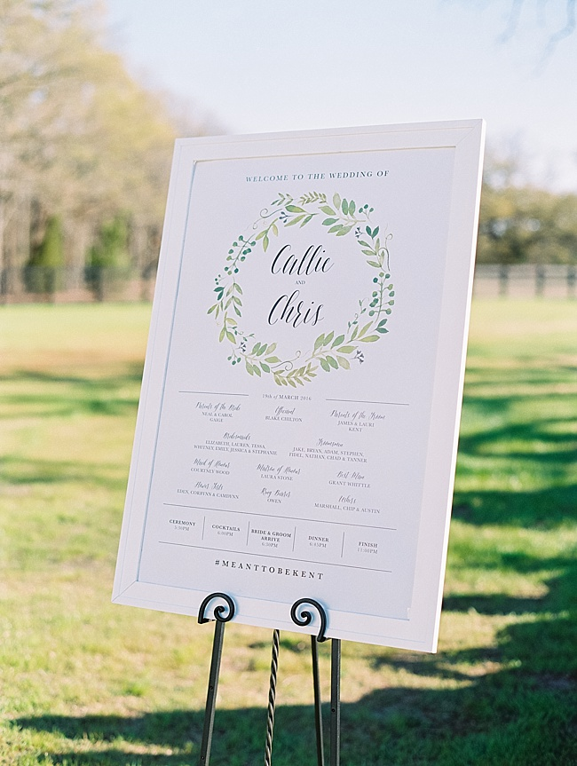 Outdoor Spring Wedding - Lindsey Brunk