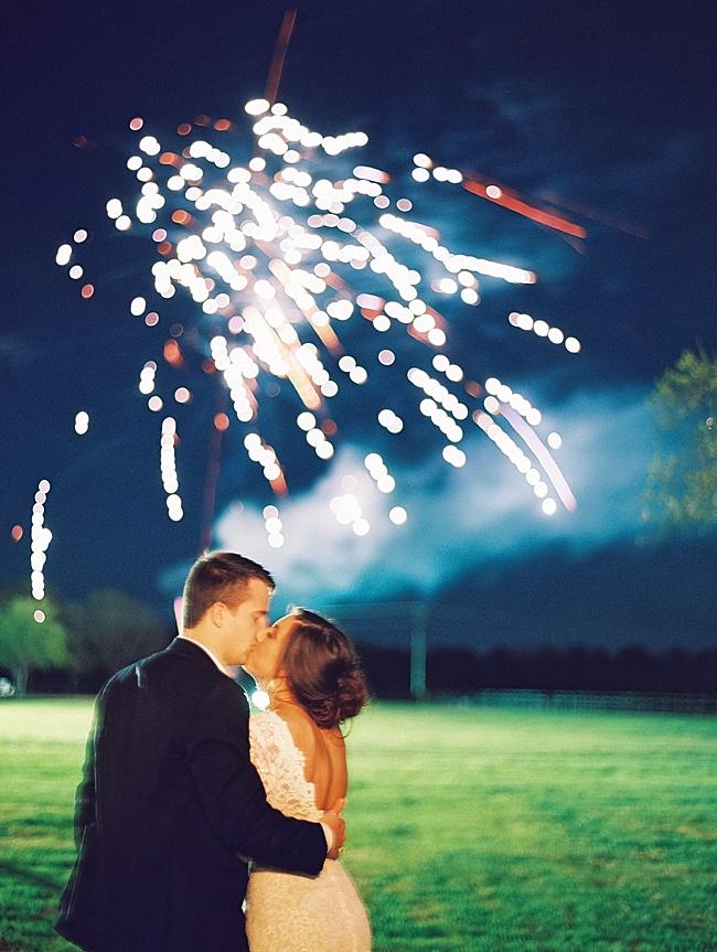 Callie & Chris Outdoor Spring Wedding - Lindsey Brunk