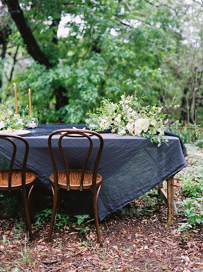 Onyx & Lace Wedding Inspiration - Lindsey Brunk