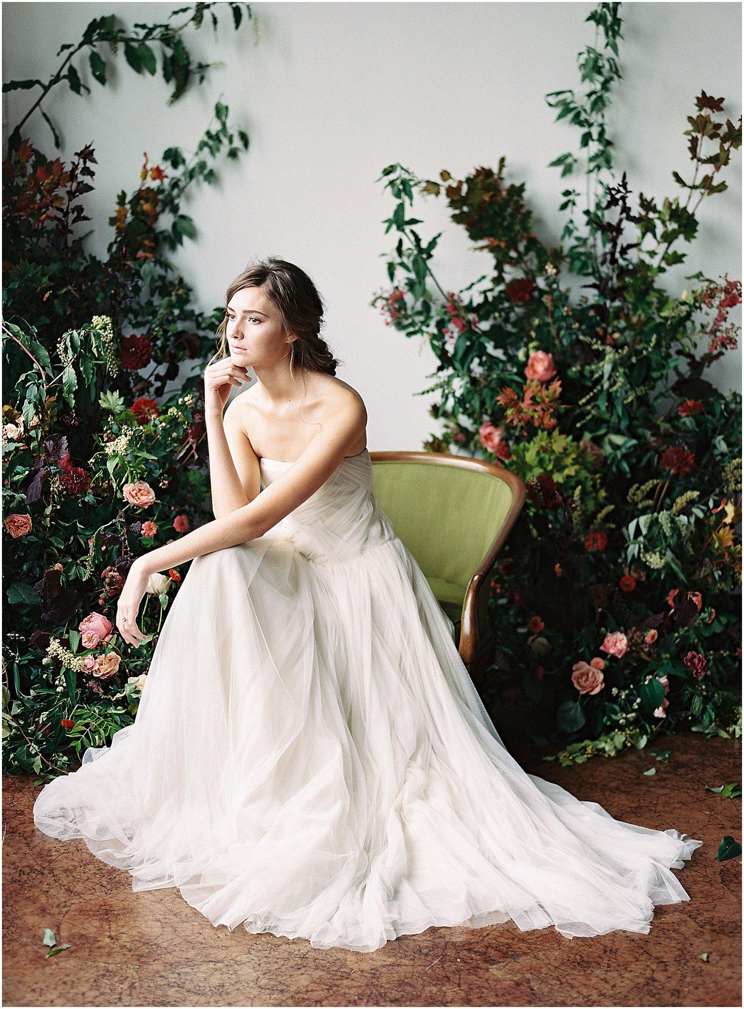 Organic Autumn Wedding Inspiration - Lindsey Brunk