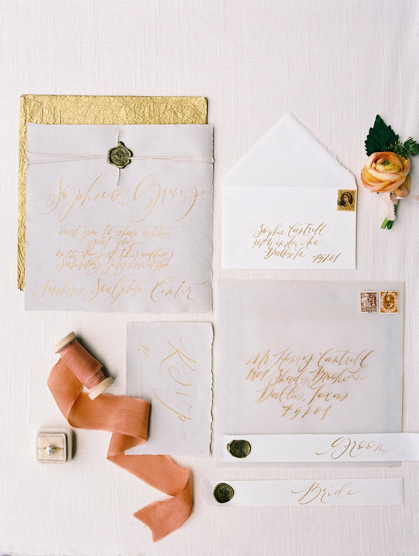 Elegant Autumn Wedding Inspiration - Lindsey Brunk