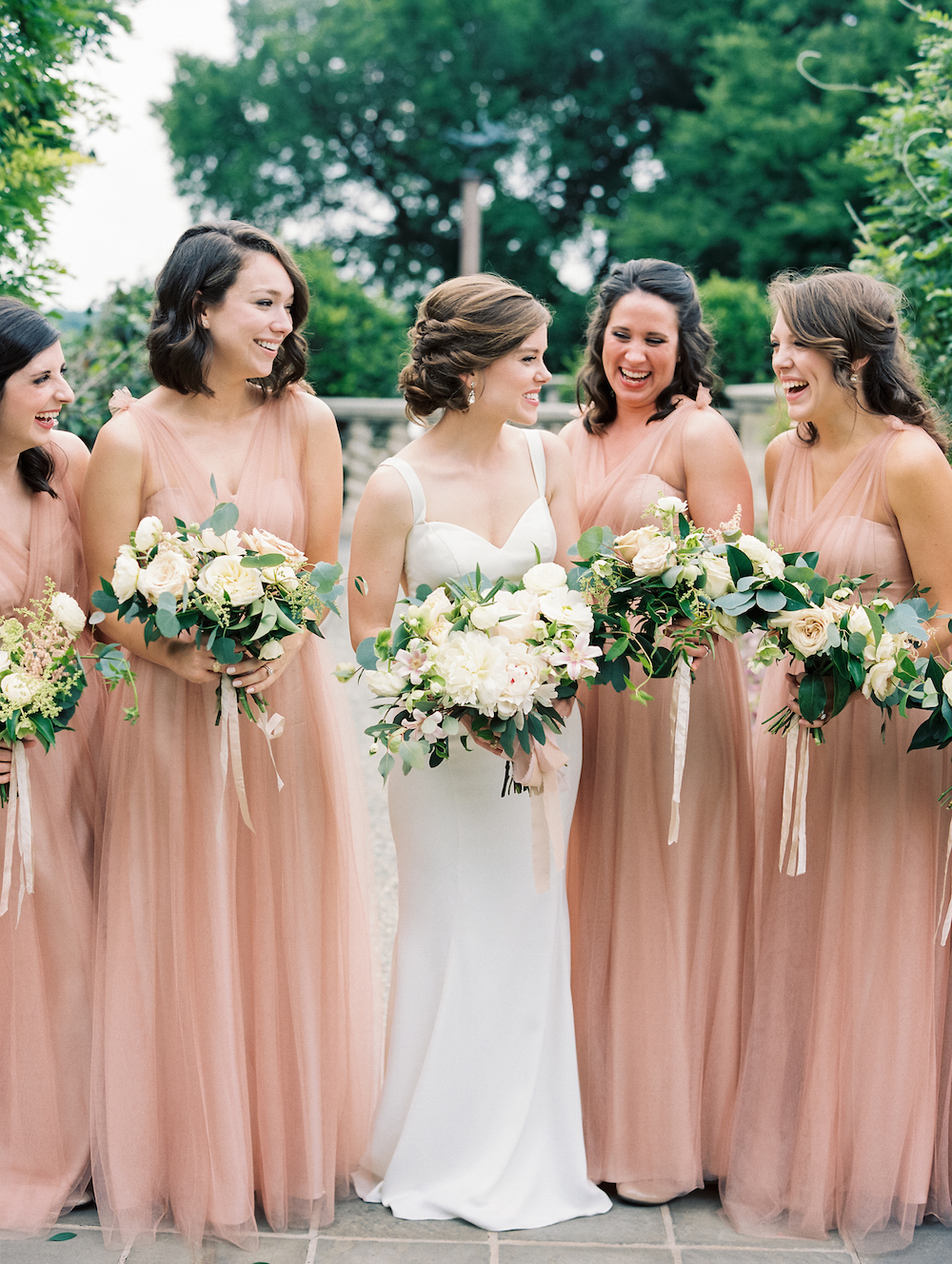 Military Garden Wedding - Lindsey Brunk