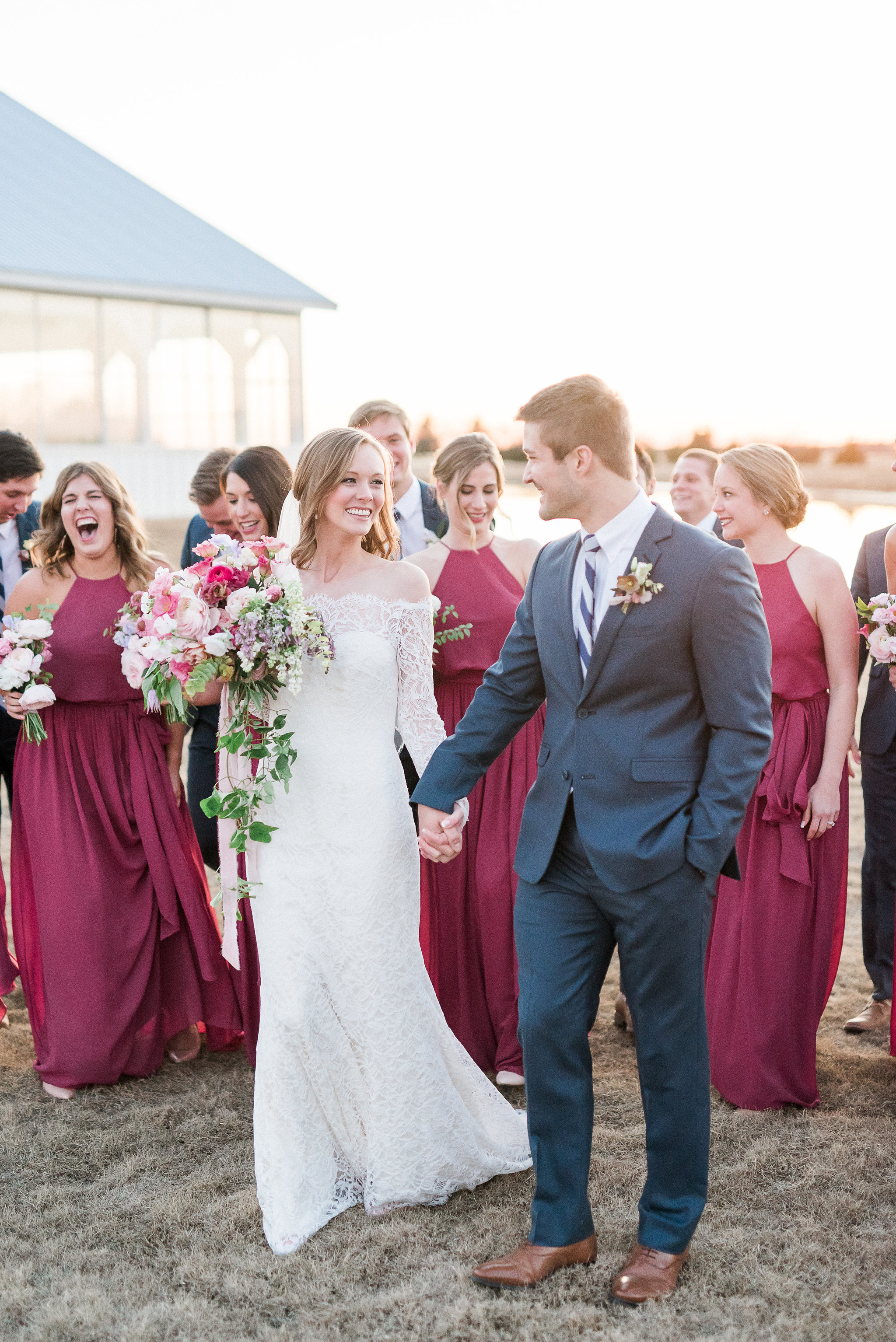 Vibrant Winter Wedding - Lindsey Brunkv