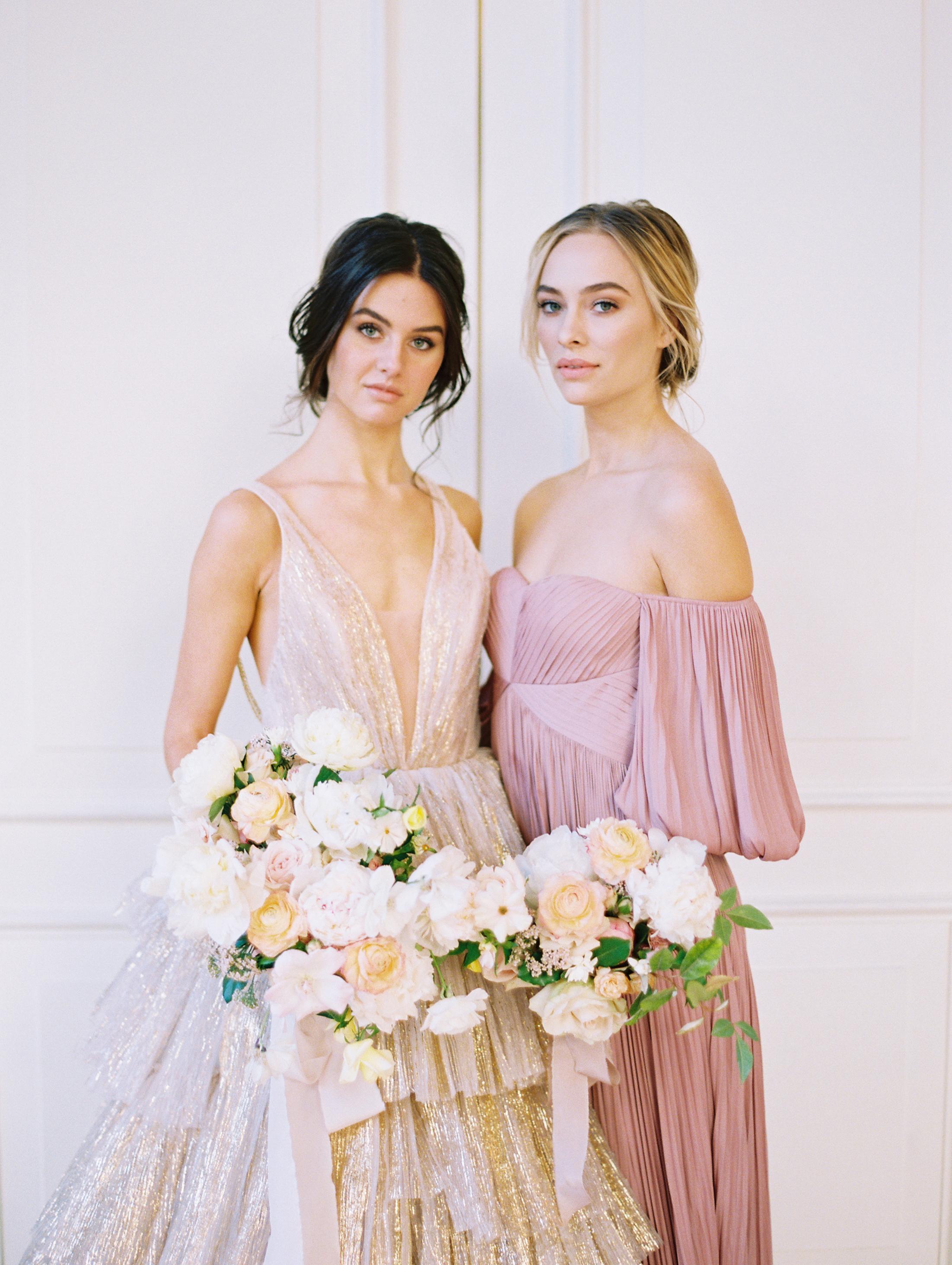 Gilded Spring Wedding Inspiration