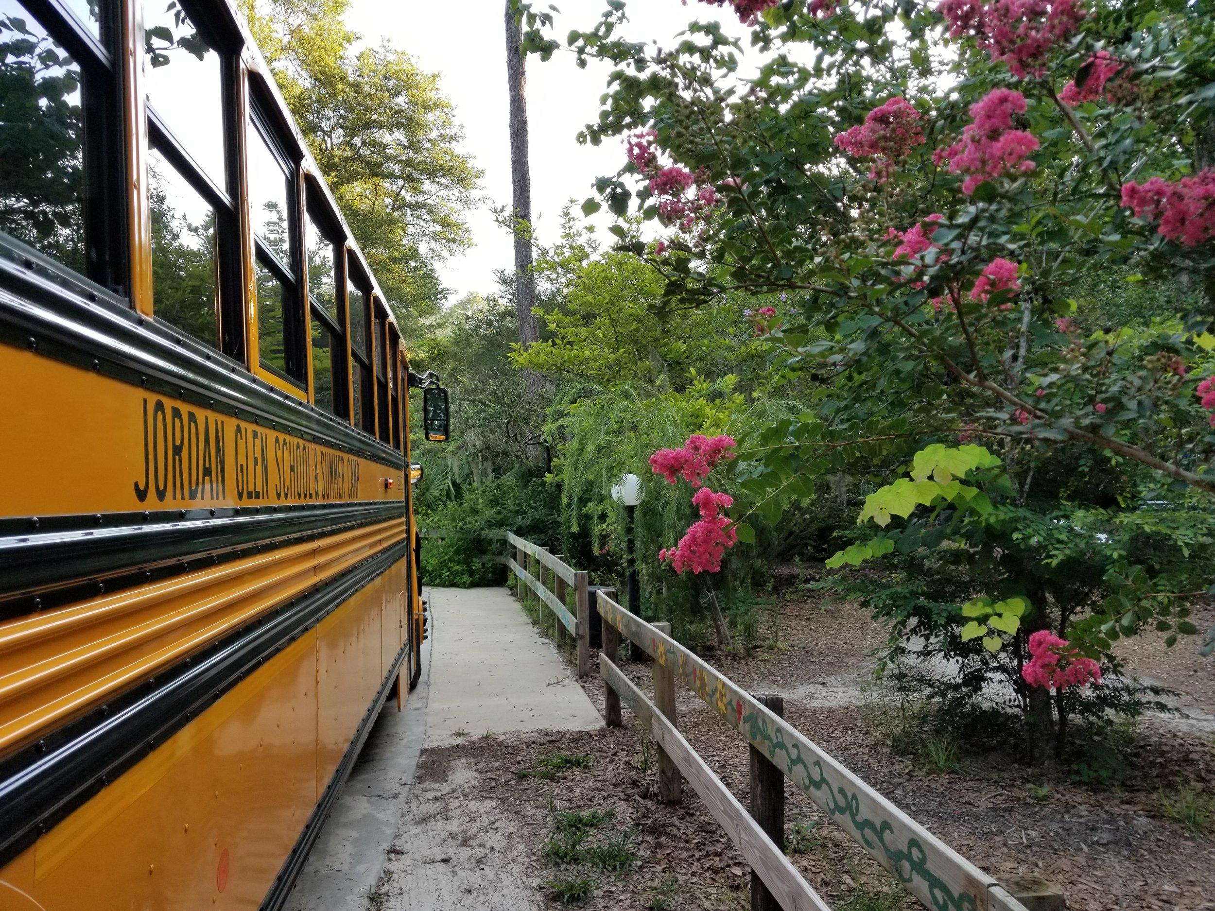 Jordan Glen School & Summer Camp - bus