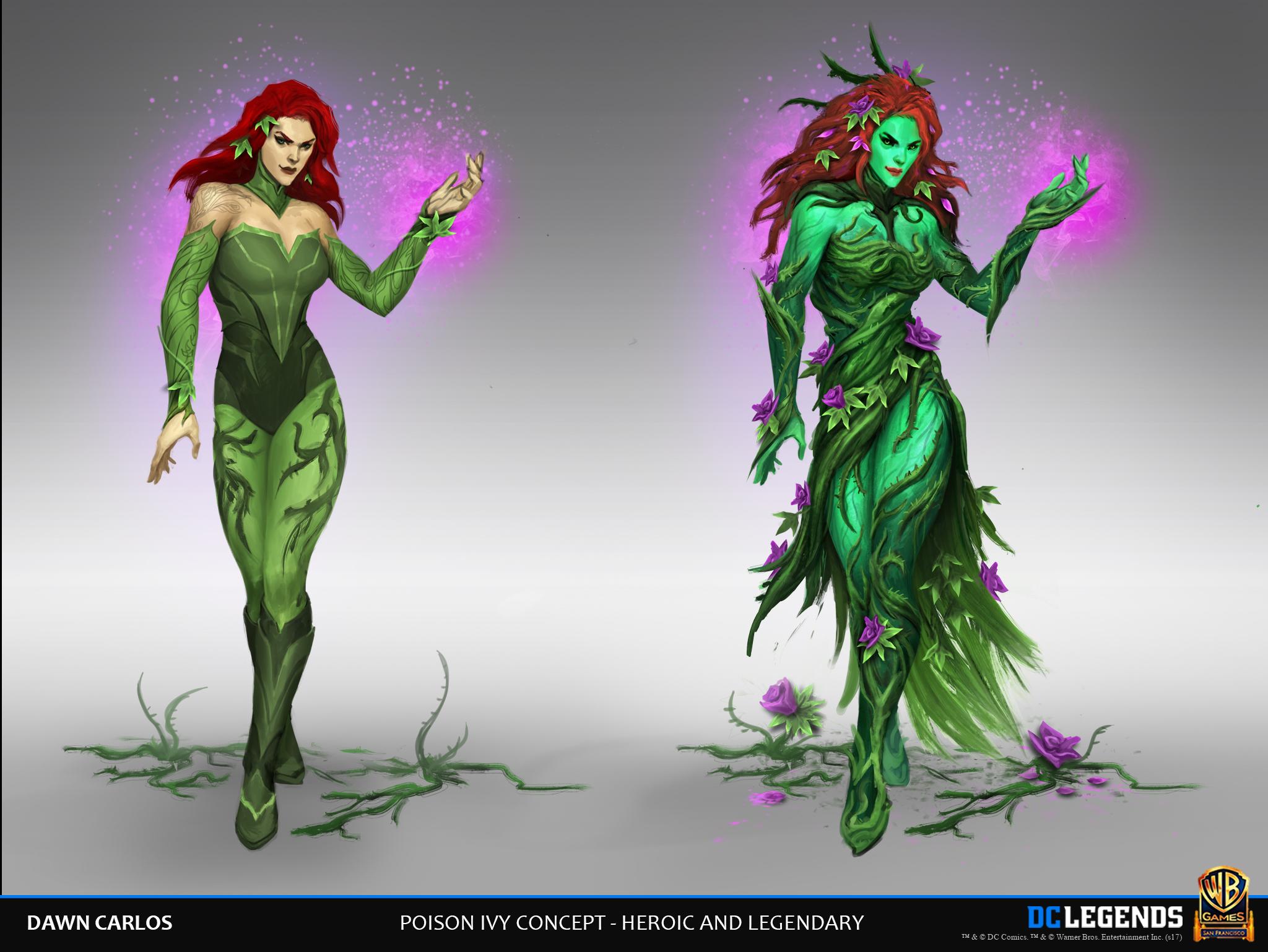 Poison Ivy Concept