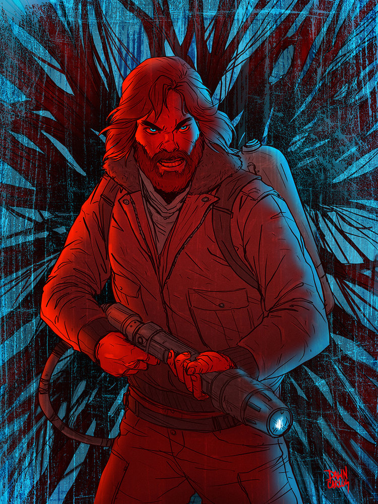 """Yeah, Fuck You too! - Kurt Russell, The Thing"" Digital for Print"