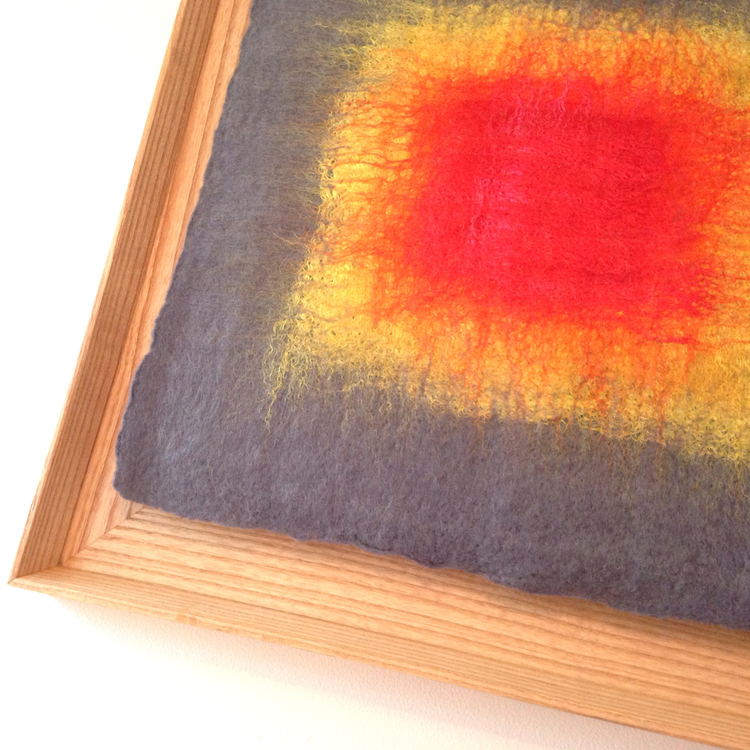 """""""Ojo: Gray, Yellow, Red""""  (pic 1 of 3)"""