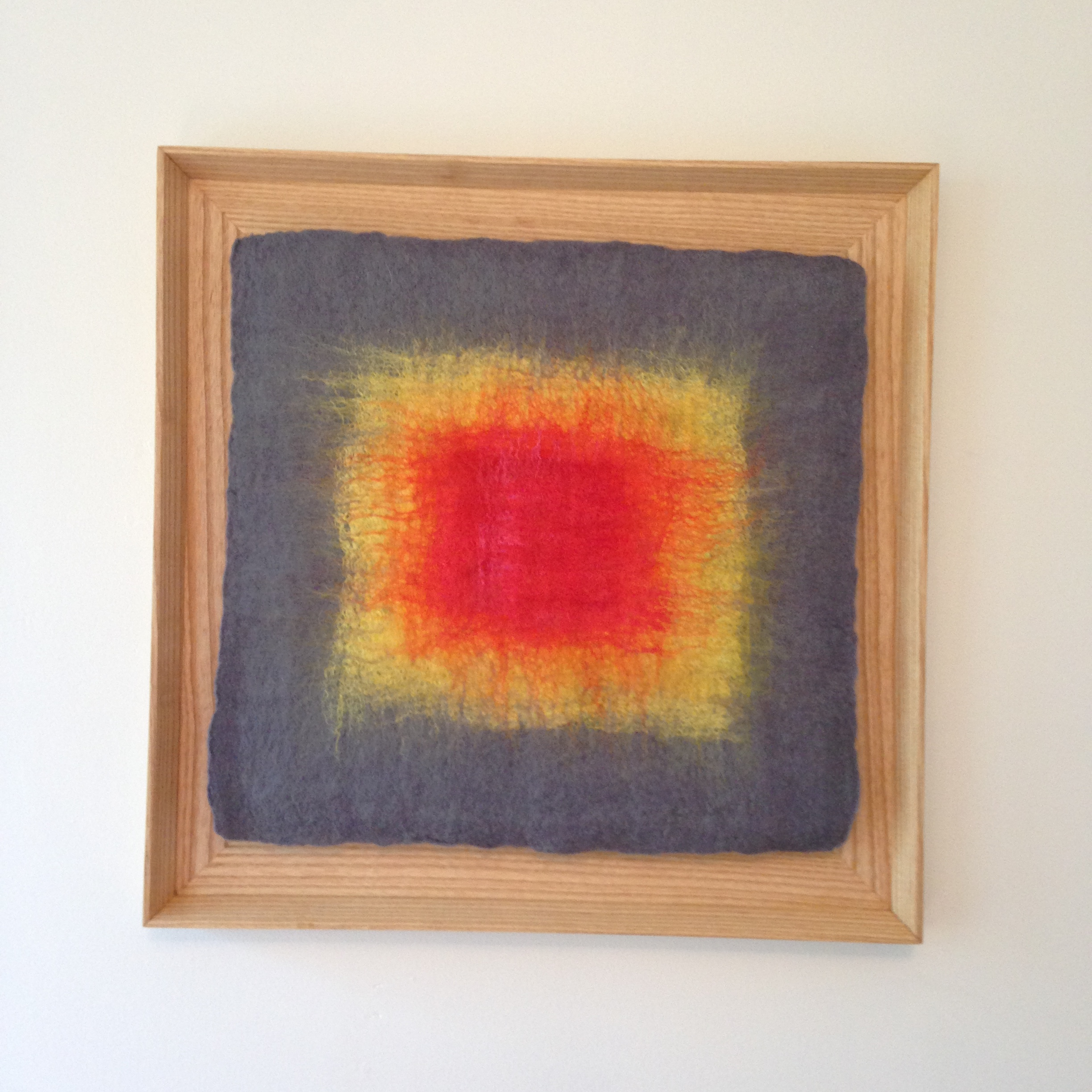 """""""Ojo: Gray, Yellow, Red""""  (pic 2 of 3)"""