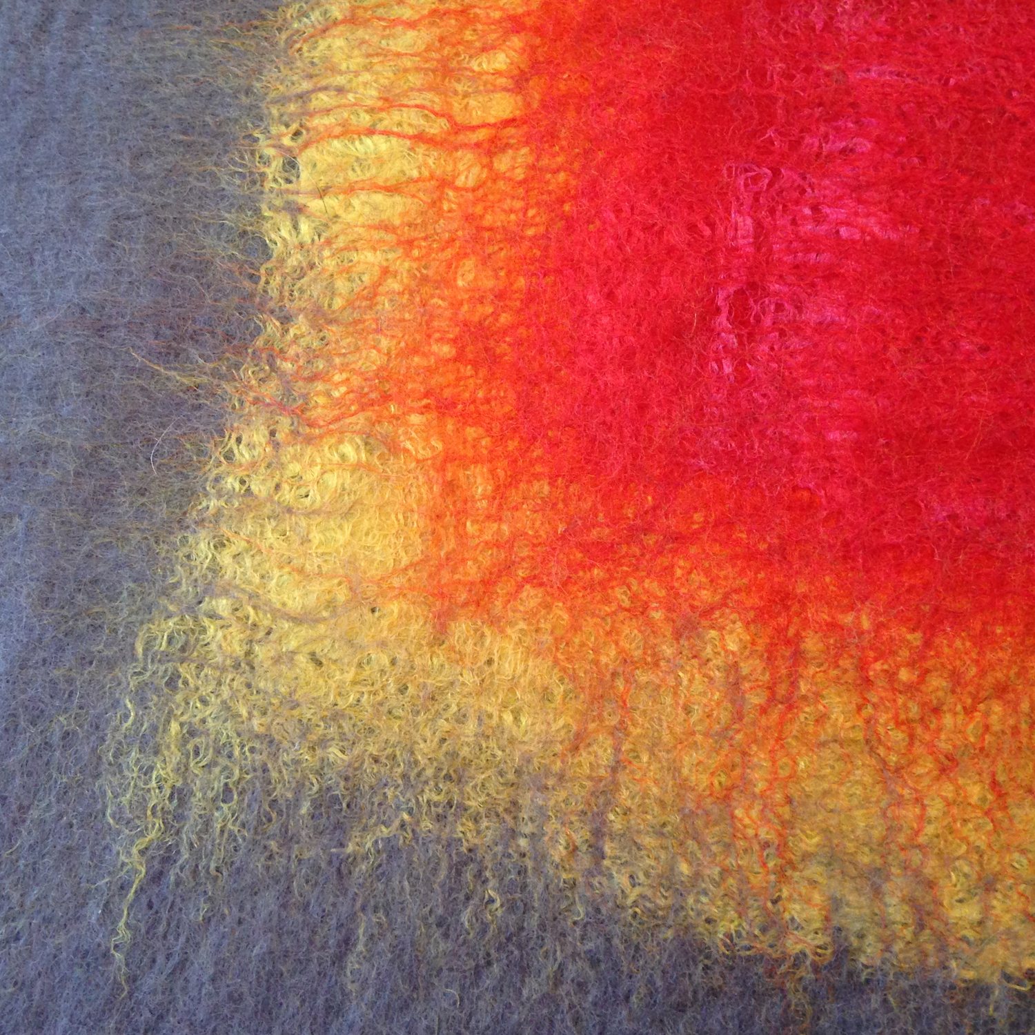"""""""Ojo: Gray, Yellow, Red""""  (pic 3 of 3)"""