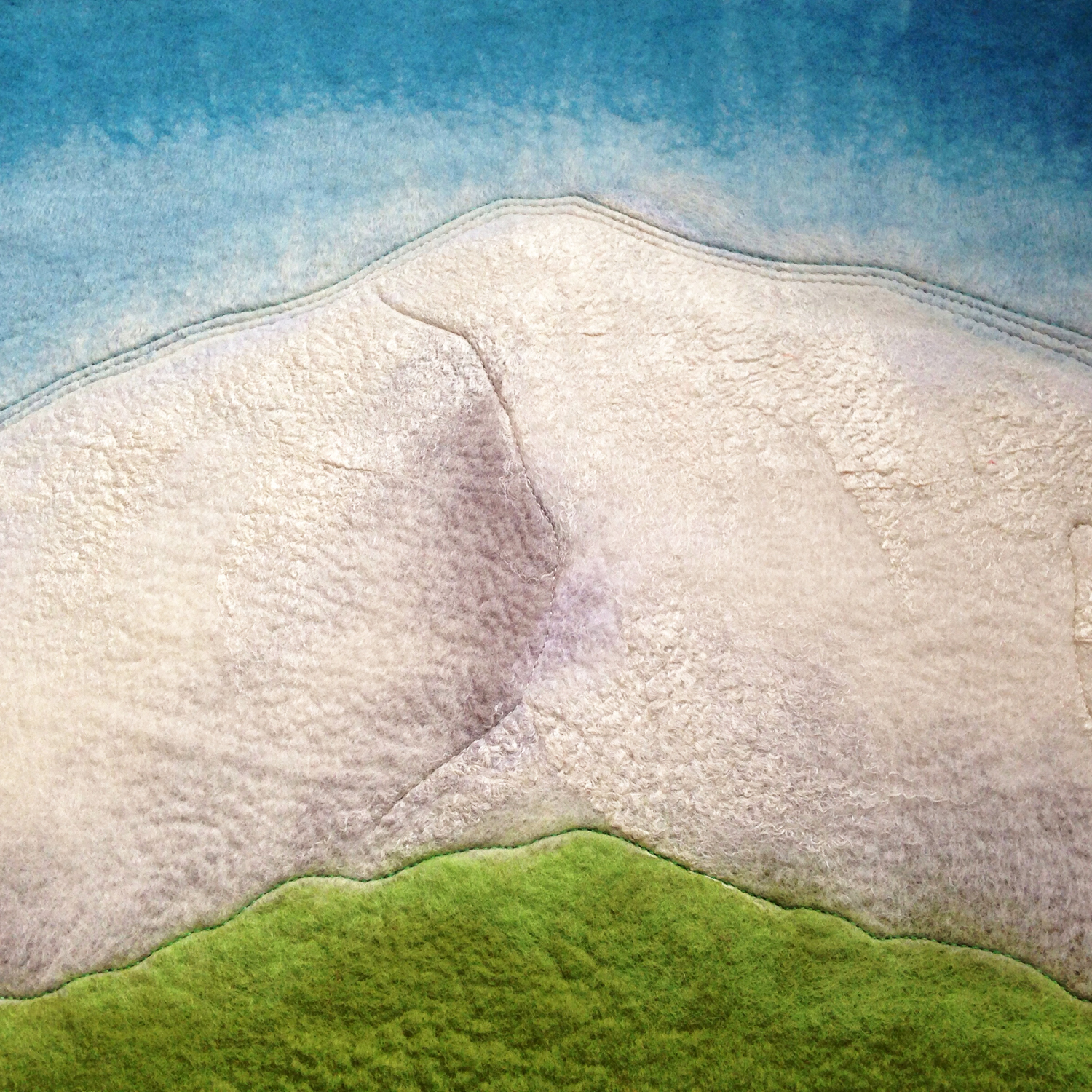 """MOUNT HOOD ABSTRACT""""  (pic 3 of 4)"""