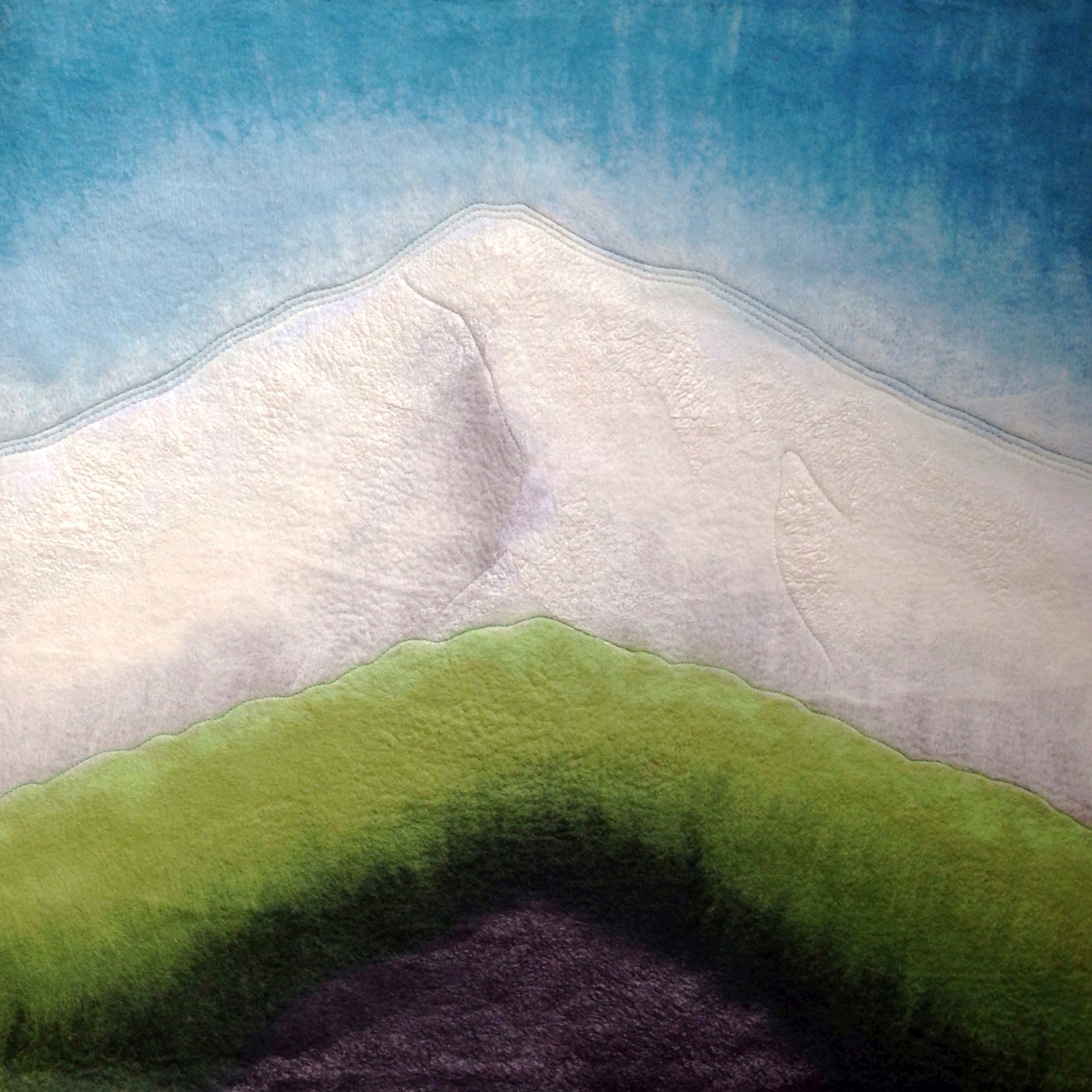"""MOUNT HOOD ABSTRACT""""  (pic 2 of 4)"""