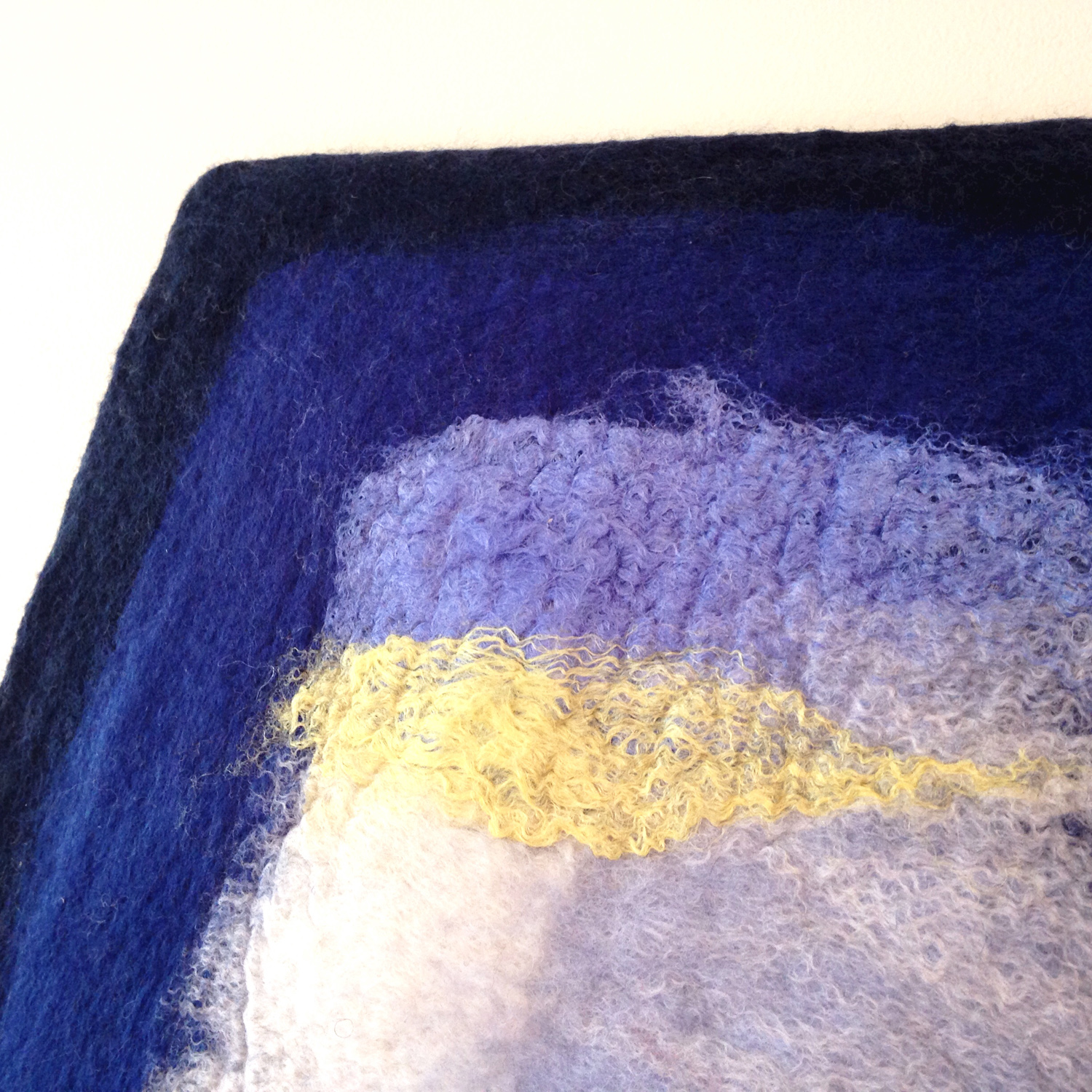 """""""Color Planes: Blue, Yellow""""  SOLD"""