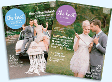 "As seen in   The Knot Colorado ,  magazine + online.  ""Real Weddings 