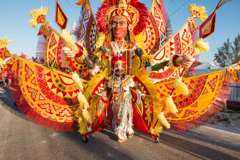 Jason Gardner Junkanoo Carnival Festival in Bahamas