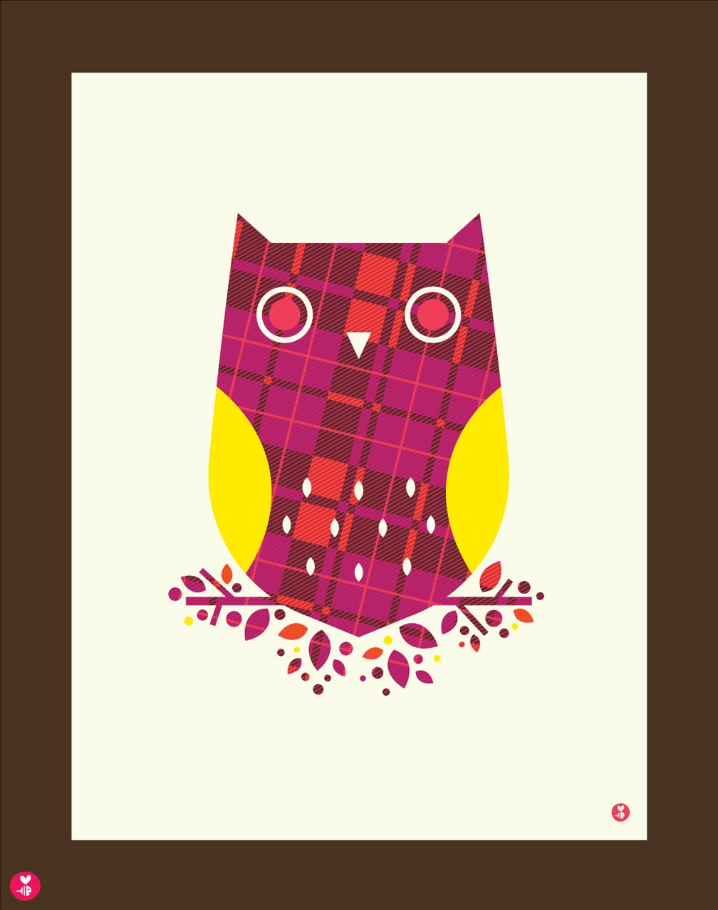 Burberry OwlLimited Edition Print