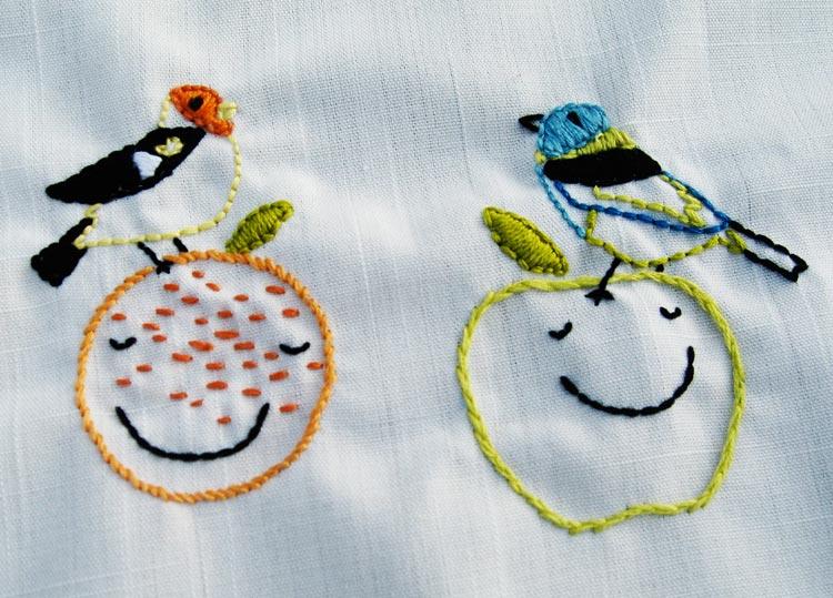 Needlework detail