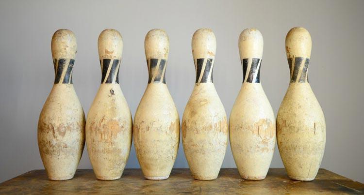 Adirondack bowling pins