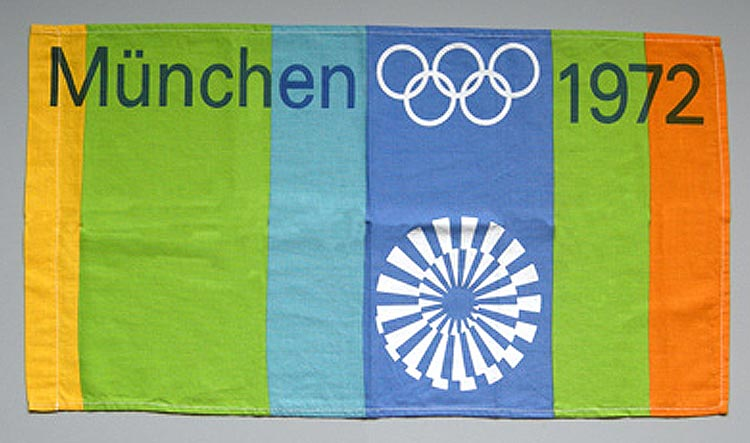 Official Olympics flag.