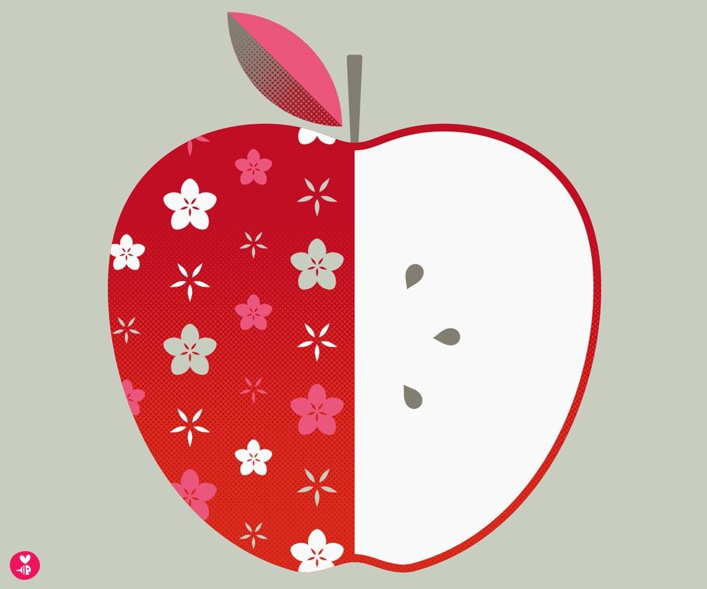 apple screen print