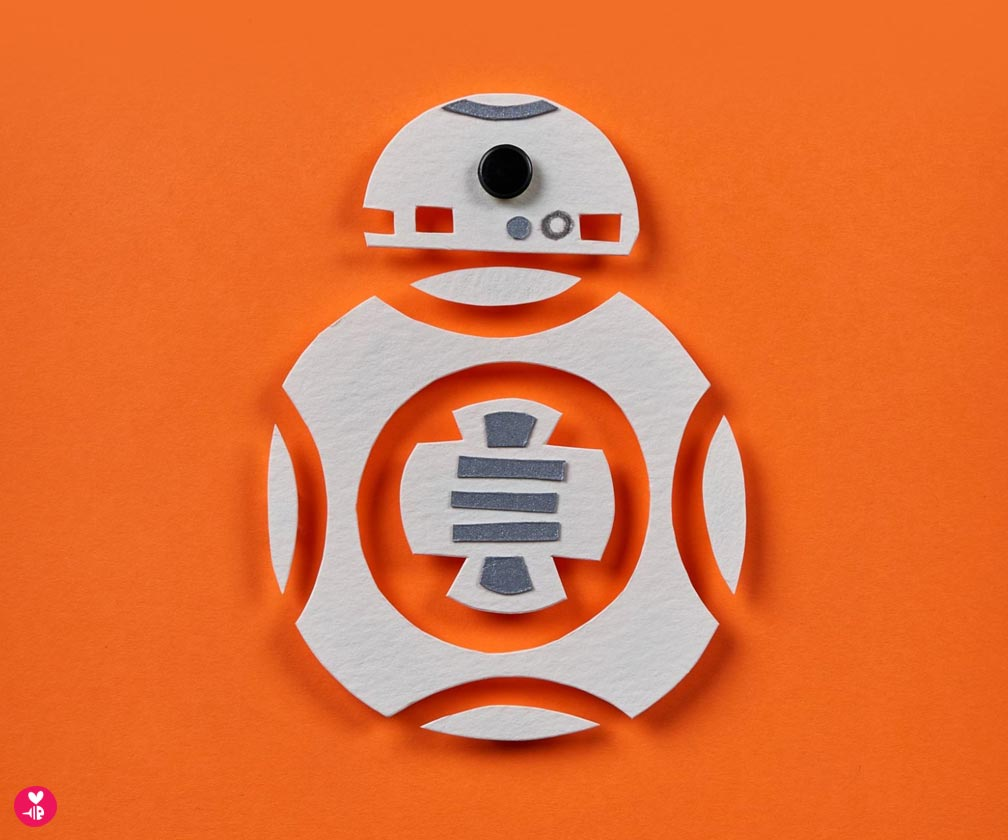 star wars character sketch: bb-8