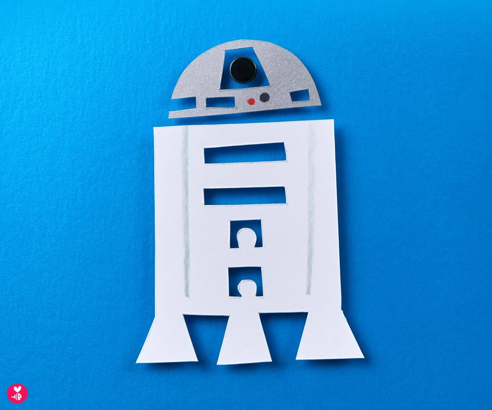 star wars character sketch: r2-d2