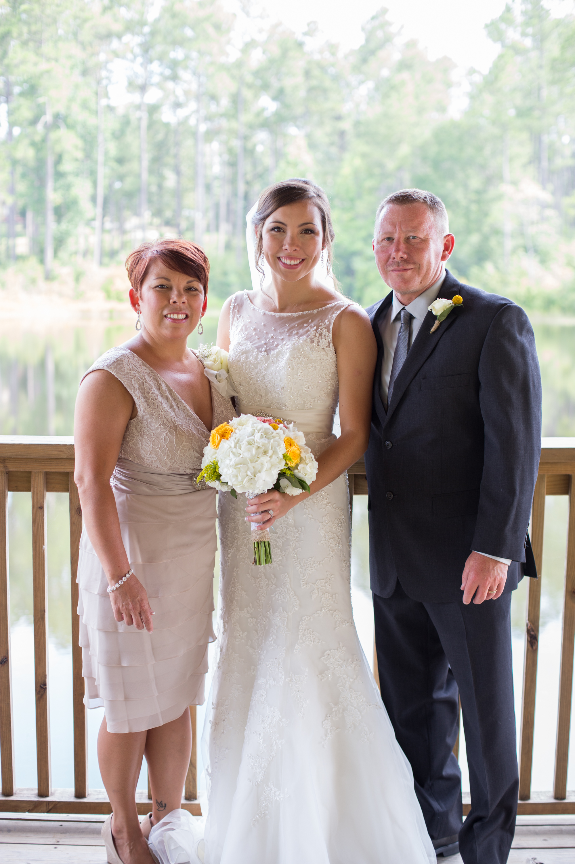 Alyssa Edwards & her sweet Mom & Dad. Photo by Michelle Taulbee Photography