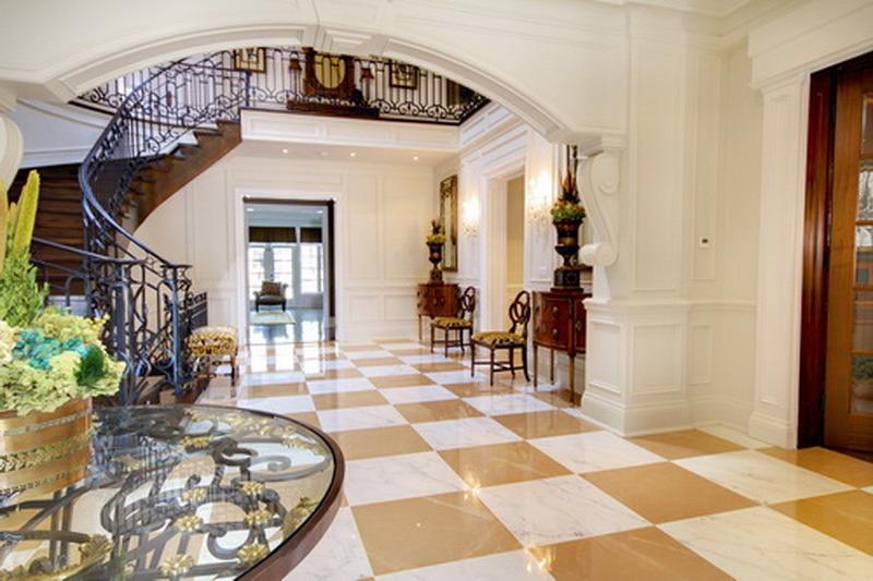 luxury entry foyer