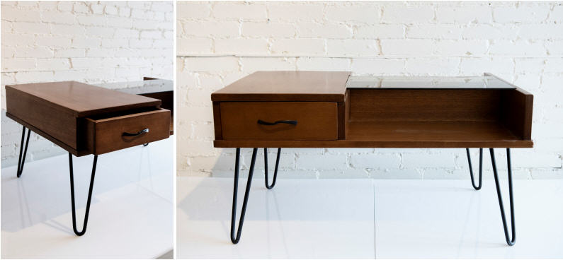 This teak coffee table is certainly a coveted piece for diehard fans of Mid Century Modern fans