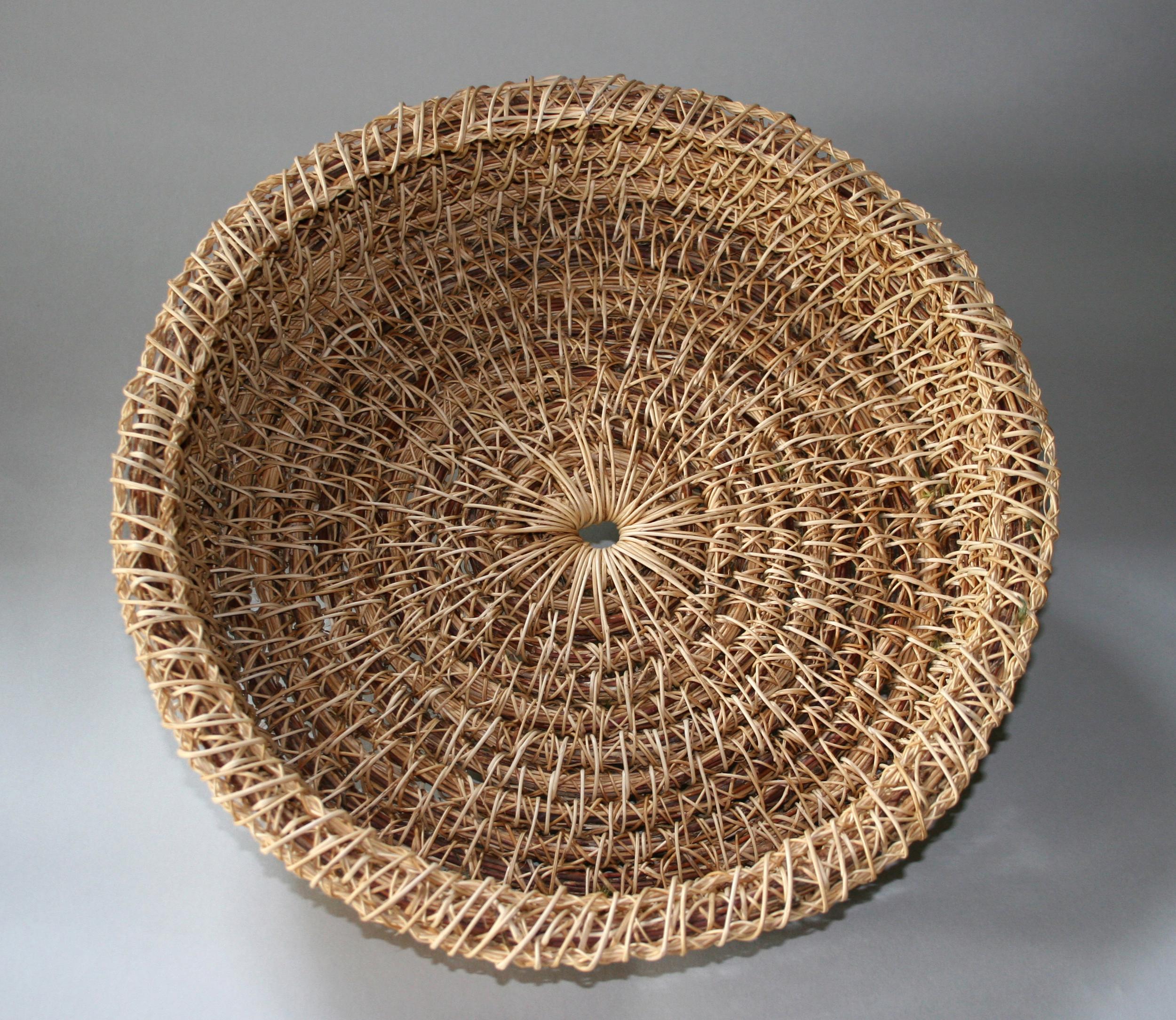 handmade honeysuckle baskets