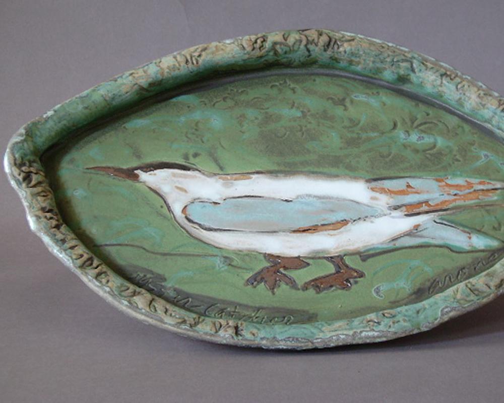 handmade pottery platter