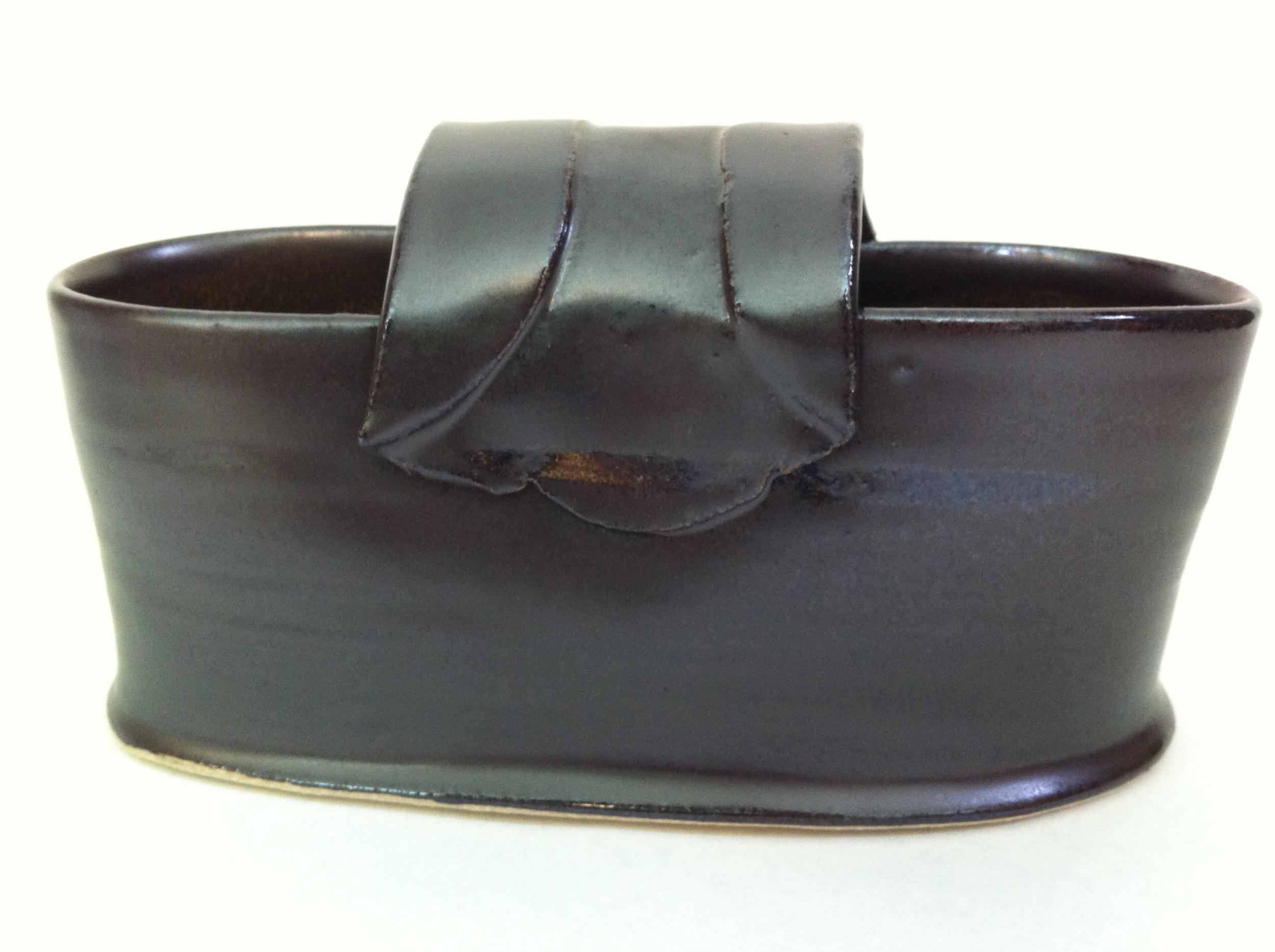 handmade ceramic bread basket