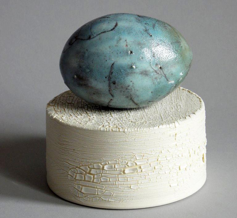 handmade ceramic egg