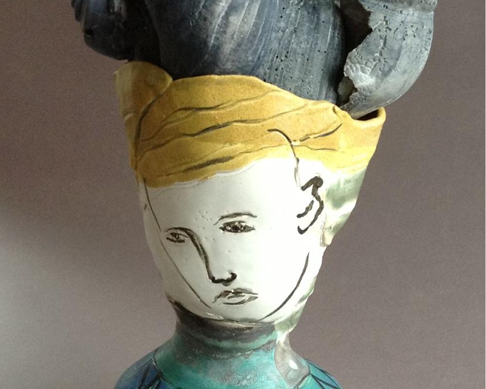 handmade pottery by Janice Arone