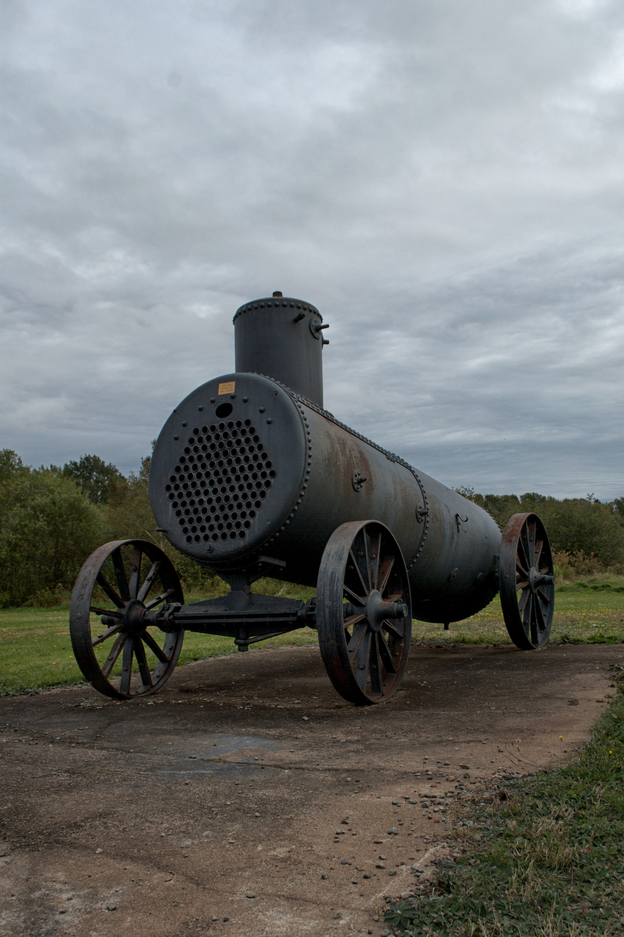 Steam Engine at the Bass River Heritage Museum