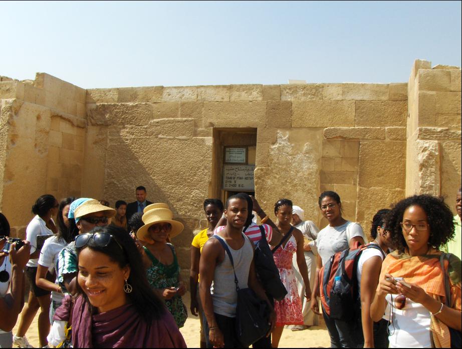 - HU Study Abroad Kemet, 2010, Tomb of Ptah Hotep