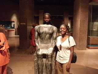 - Nijel and Angi at the Nubian Museum.