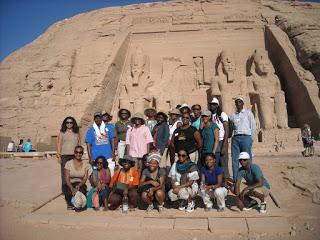 - Howard University Study Abroad Kemet, Abu Simbel, 2009