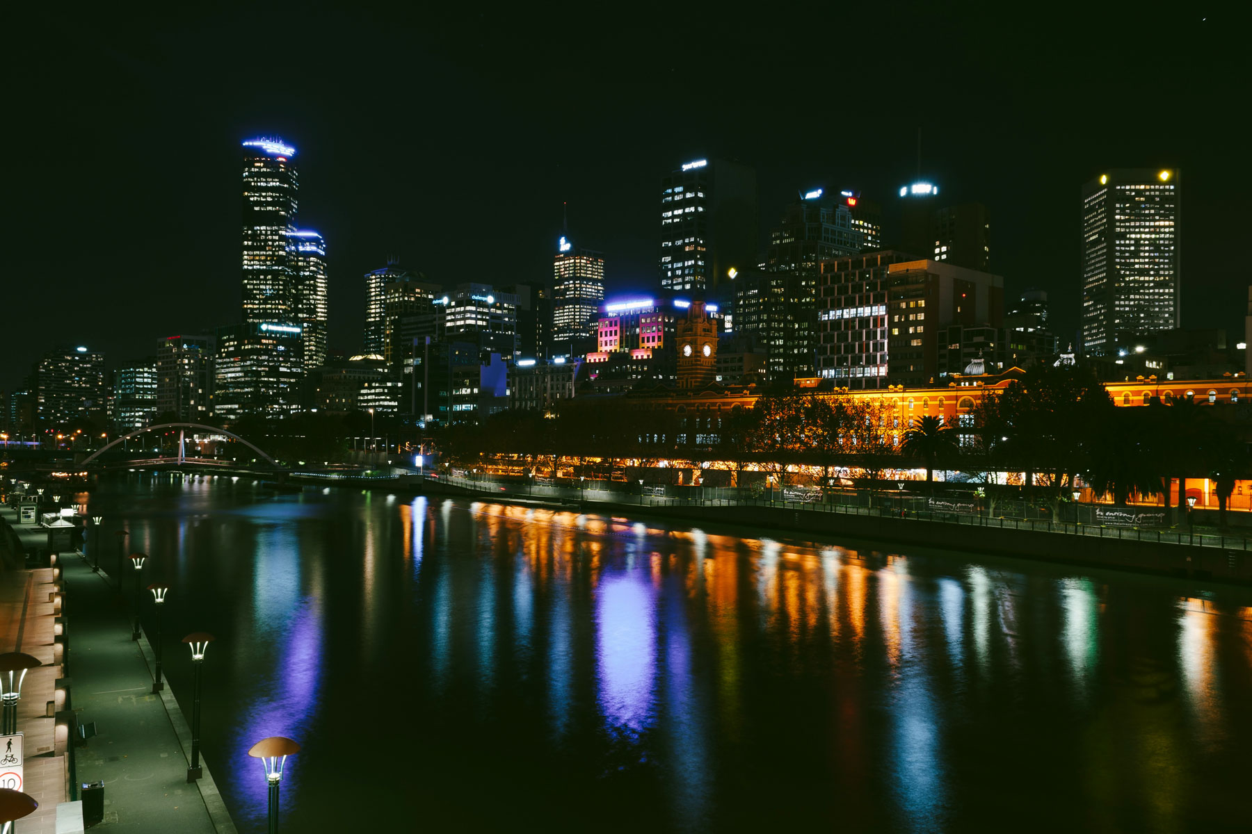 The city at night - With many watering holes open until the early hours, Melbourne's city comes alive at night. With live music or theatre every night of the week, bar hopping to partake in and late night exhibitions, Melbourne is well equipped for night owls. If the weather is on your side, grab some food to takeaway and enjoy the well-lit CBD from the banks of the Yarra, or if you prefer, get cosy in one of the many excellent wine bars.