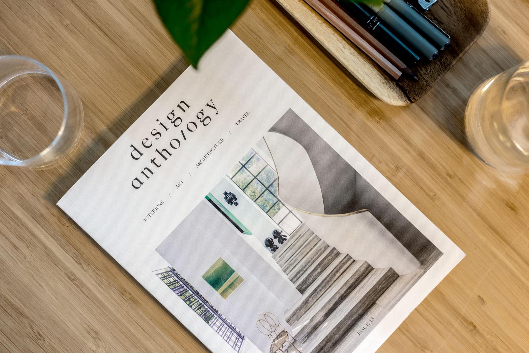 Issue 13 of  Design Anthology . (Jeremy Smart for  Aerostorie )