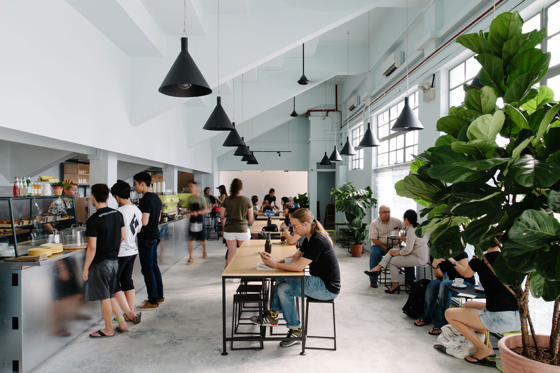 Brawn & Brains - This raw, light-filled space gives you a good indication of where Singapore's coffee scene is headed. Having moved into this space, the cafe has given as much focus to its well-made, hearty food as it does to its ever excellent coffee. This versatile venue is somewhat Australian in style, making it the kind of place we're equally happy to choose for a leisurely breakfast, working lunch or coffee meeting.#01-02, 100 Guillemard Road