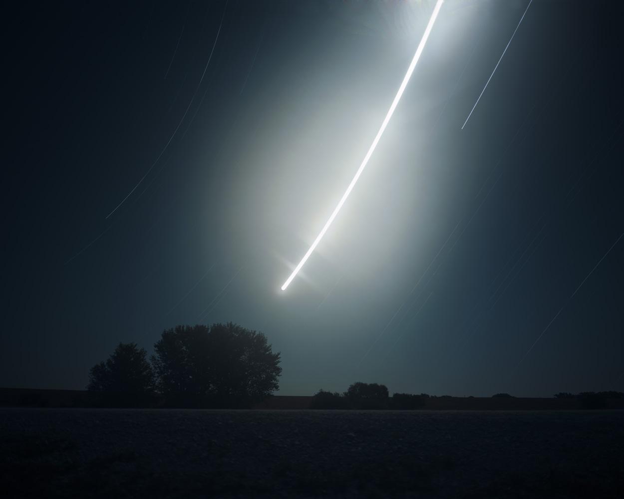 11-256 Moon rise at Antelope Lake, Studley, Kansas, Radius Print.jpg