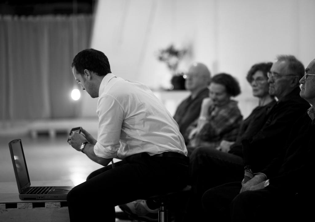 Performer: Michael Cullen   Photo: Josephine Rosman