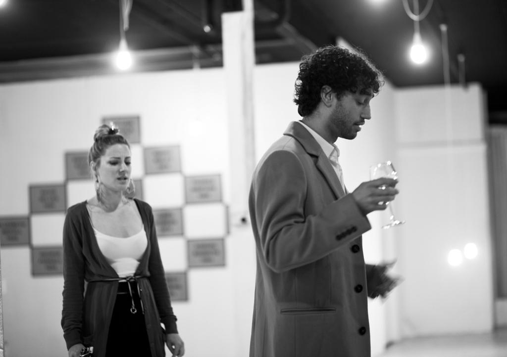 Performers: Katrina Rautenberg and Tim Wardell  Photo: Josephine Rosman